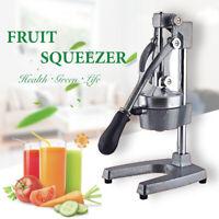 Hand Press Manual Fruit Juicer Juice Squeezer Citrus Orange Lemon Tool ARC USA