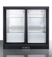 Summit Scr700, 35.5x34.12x20.25-Inch Refrigerated Beverage Merchandiser, 7.4 Cu.