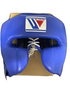 WINNING Boxing Head Gear FG-2900 Training blue Medium Size Made in Japan With