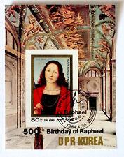 COREA 500 ANNI DALLA NASCITA DI RAFFAELLO   FRANCOBOLLI  -stamps - timbres
