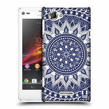 HEAD CASE BEWITCHED MANDALA DESIGN HARD BACK CASE COVER FOR SONY XPERIA L C2105
