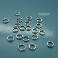 20 PC Solid Sterling Silver 6mm 22 Gauge/0.6mm Split Jump Ring Connector #33127