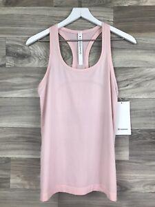 Lululemon Swiftly Tech Racerback Size 8 Pink Mist PIMI 56646