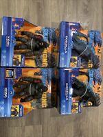 Godzilla vs King Kong Movie Monsterverse 2020 Set of 4 Axe Fighter Heat Ray Towe