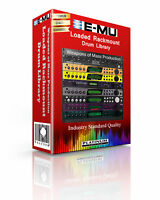 E-MU Loaded Rackmount Kits/Drum WAV Samples & Sounds Library: digital delivery