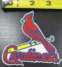 """St. Louis Cardinals aprox. 3.5"""" MLB Iron/Sew On Patch~FREE SHIPPING FROM U.S.~"""