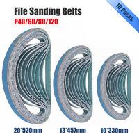 520x20,13x457,330x10mm Sanding Belts P40 / 60 / 80 / 120 Power File Long Lasting
