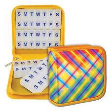 Travel Pill Vitamins Organizer Multi-Color Case Home 4 / 8 weeks #PBO-R007#
