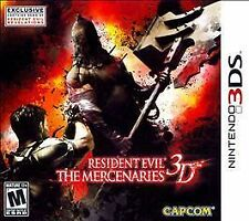 Resident Evil: The Mercenaries 3D (Nintendo 3DS, 2011) new