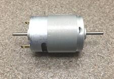 Mabuchi 12V DC Motor 2100-2900 rpm DUAL SHAFT hobbies RC CARS, Propellers, NEW