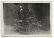 36/549 FOTO -  ALTE ZEITEN  -  MOTORRAD  INDIAN