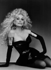 Dolly Parton UNSIGNED photograph - L3157 - In the late 1980s - NEW IMAGE!