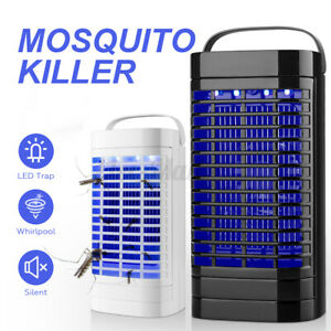 Electric Fly Bug Zapper Mosquito Insect Killer Lamp LED Light Trap Pes