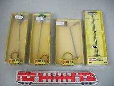 AI423-0,5# 4x Brawa H0/AC Lampe/Lampe/Lanterne: 5507+540+1511, W+