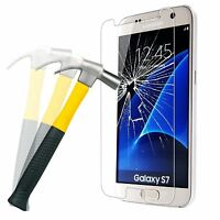 Premium Genuine Tempered Glass Film Screen Protector Guard For Samsung Galaxy S7