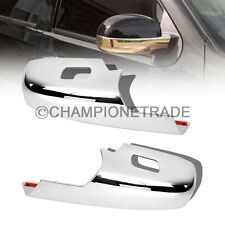 Chrome Rearview Mirror Cover For 07-11 Chevy Silverado Tahoe GMC Sierra Yukon CT