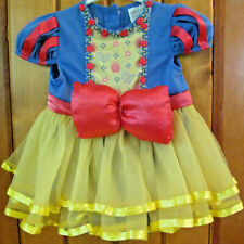 Disney Princess Snow White Dress w Sleeper Costume 12-18 Month Flowers Glitter