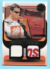 2003 Press Pass Tony Stewart Double Burner Race Used Glove Logo/Firesuit /100