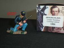 King and Country cw65 GUERRA CIVILE AMERICANA Unione Trooper inginocchiata sfondando CARBINE