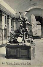 Tervueren tervuren Flandre s/w ~ 1910 nouveau Musée du Congo Danseur Groupe