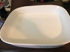"Corning Ware F21-B French White 4.5L Casserole Lasagna Baking Dish LARGE 14""x11"""