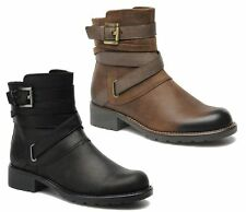 Clarks Cuban 100% Leather Upper Shoes for Women