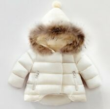Baby Winter Coat Faux Fur Hooded Thick Jacket  6 months