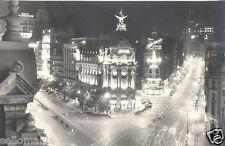 ANTIGUA POSTAL MADRID AVENIDA JOSE ANTONIO GRAN VIA OLD POSTCARD         CC00257