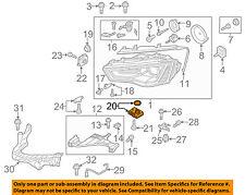 AUDI OEM 11-15 A8 Quattro Headlight Head light lamp-Control Module 8K0941597E