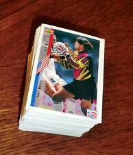 FIFA WORLD CUP 1994 USA 94 Upper Deck complete set stickers no album