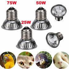 25/50/75W Uva+Uvb Reptile Brooder Heat Emitter Lamp Bulb Light Heater for Pet