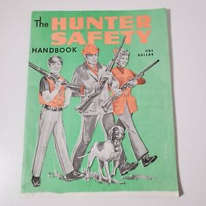 Vintage 70's Hunter Safety Handbook From Fishing And Hunting Mag