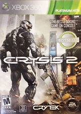 Crysis 2 -- Platinum Hits (Microsoft Xbox 360, 2011) -No Manual