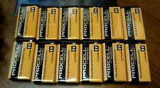 9 Volt batteries Duracell Procell 12 count . New & Capped. Good until 2021