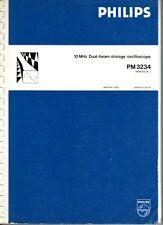Philips Oscilloscope PM3234 Manual