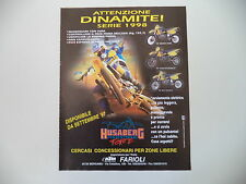 advertising Pubblicità 1997 MOTO HUSABERG FE/FC