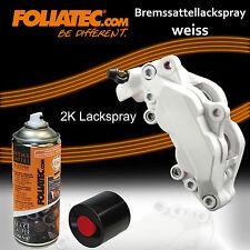 FOLIATEC Bremssattellack 2k Universal Hitzebeständig LACKSPRAY 2134 weiß 400ml