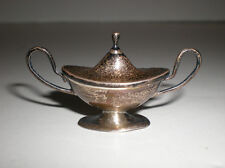 Antique Miniature Sterling Silver Covered Tureen England Barker Brothers Mini Sm