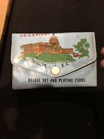 Washington DC State Capital Playing Cards Deck Bridge Size W Score Card