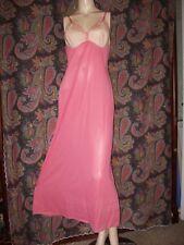 Vintage Vanity Fair Silky Nylon Empire 2-Tone Formal Slip Nighty Lingerie 36Ll