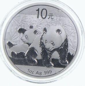 2010 China 10 Yuan - 1 Oz. Silver Panda *598