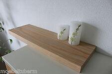 Wandboard Lärche gebürstet gekalkt Massiv Holz Board Regal Steckboard Regalbrett