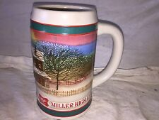 Vintage Miller High Life Beer Stein Beer Mug Holiday Traditions store#G3