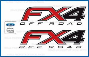 2012 - 2014 Ford F150 FX4 Off Road Decals F offroad Stickers Truck 4x4 Bed Side