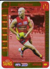 2015 AFL Teamcoach Gold Card - Gary Ablett