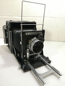 Graflex Speed Graphic Press Film Camera Kodak Ektar 4.7 127mm Lens Spares repair