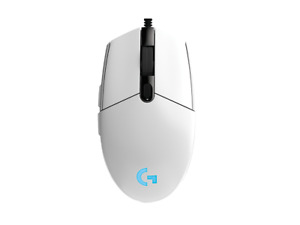 ✅ Logitech G102 (G203) Prodigy Wired Optical Gaming Mouse - White 🚚 FREE SHIP