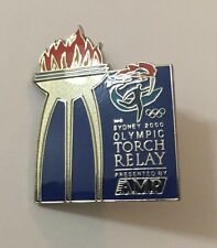 Sydney 2000 Olympic  Games Torch Relay AMP Sponsor Pin