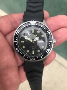 Vintage citizen diver 150m 21 jewels automatic rare