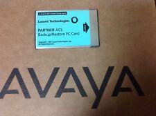 Lucent/Avaya Partner ACS 12A1 / 107932071 Backup/Restore PC Card